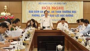 Bộ trưởng Phùng Xuân Nhạ: Hiệu trưởng phải chịu trách nhiệm trực tiếp về bạo lực học đường